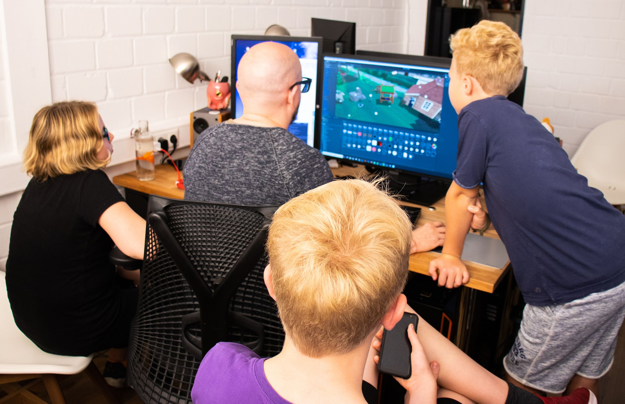 Gamedesign mit Kindern / Gamedesign Ostfriesland / Tim Bruns - Werbung & so